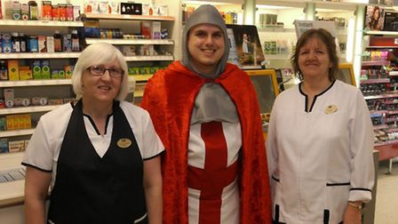 Coming to a town near you soon....St George's Fayre, March. Seen through the eyes of Nigel Marsh