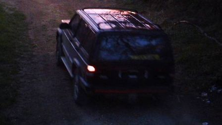 The vehicle police would like to trace