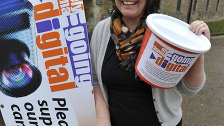 Caroline Cawley from ADeC launched the Going Digital fund raising campaign in January.