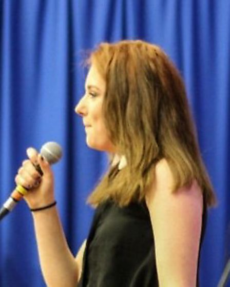 Felsted students perform in Dysfunkfest concert.