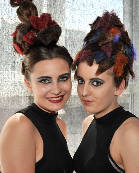 Hair and beauty through the ages event, at the Isle college Wisbech. Picture: Steve Williams.