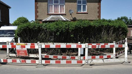 Electric cable repairs in Badgeney Road March.