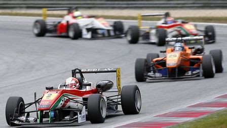 Alex Lynn in action at the Red Bull Ring.