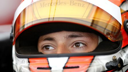 The 19-year-old preparing to race in Austria.
