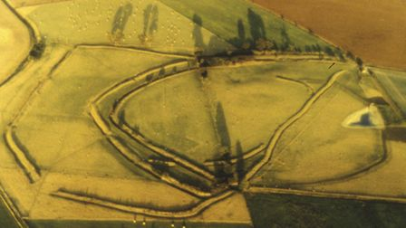 Stonea Camp is the lowest lying Iron Age fort in Britain.