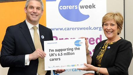 MP Barclay promoting Carers Week