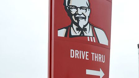 KFC Sign at Wisbech road Westry.