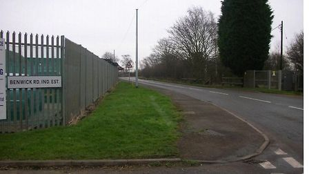 Industial estate, Benwick Road, Whittlesey, where wood recycling plant is proposed