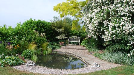 Rosewell House gardens at Ely