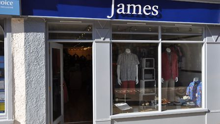 The new shop front