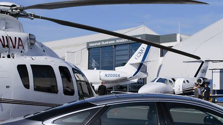 Cambridge Airport - display at last year's Business and General Aviation Day