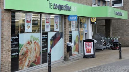 The Co-operative food store, High St March.