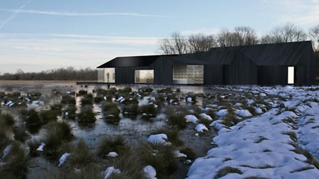 Great Fen Welcome Centre competition winner