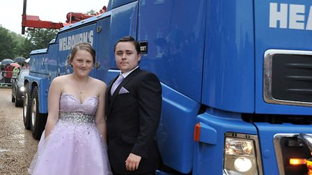 Thomas Clarkson Academy Prom at the Elme Hall Hotel, Wisbech. Picture: Steve Williams.