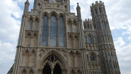 The pet blessing service at Ely Cathedral
