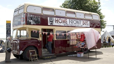 The Home Front bus