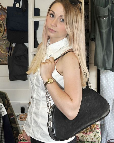 Lucy James from Follow your Heart, bespoke clothing,Wisbech.