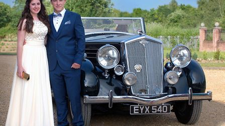 End of term prom for the Wisbech Grammar school.