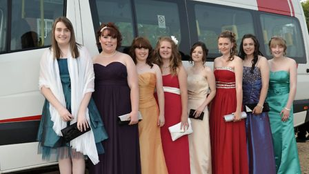 Neale-Wade prom held at the Elme Hall Hotel, Wisbech. Picture: Steve Williams.