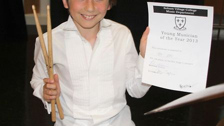 Young Musician of the Year at Soham Village College