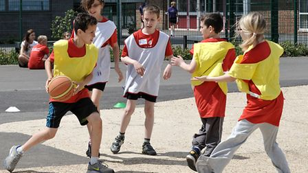 Sports Transition Festival at Neale-Wade. Picture: Steve Williams.