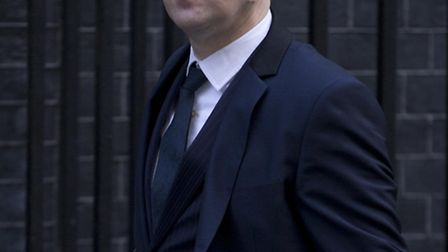The editor of the Sun newspaper Dominic Mohan arrives for a meeting of fellow newspaper editors and