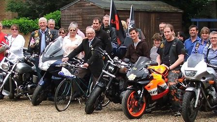 Some of the bikers