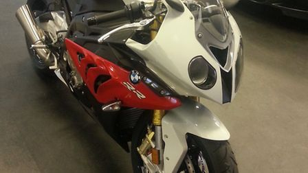 The bike that was stolen from Fordham