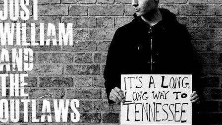Just William and the Outlaws' new single cover.