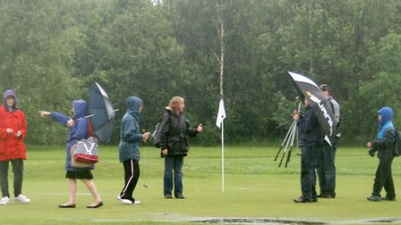 The nearest most at Fenland Council get to golf....the disability sports day at Priory Golf Centre i