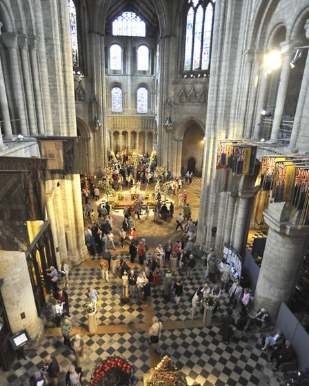 Ely Cathedral Flower Festival,