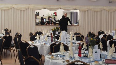 The Manor function room