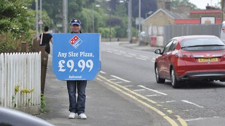 Dominoes Pizza adverts