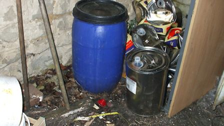 Images captured by health inspectors on a routine visit to Spice2Burwell