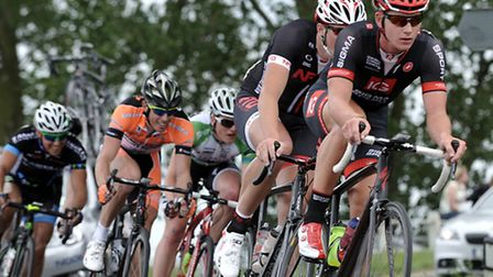 Circuit of the fens cycle race. Picture: Steve Williams.