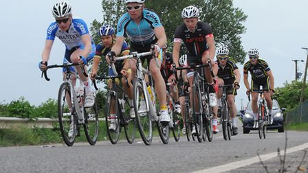 Circuit of the fens cycle race .Picture: Rob Morris.