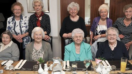 March High School annual reunion, for the year beginning 16th September 1942 at the Oliver Cromwell