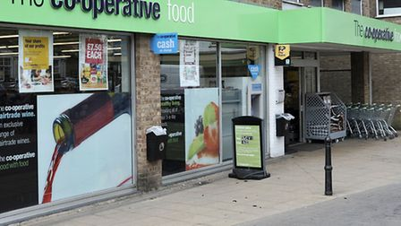 co-op food store March.