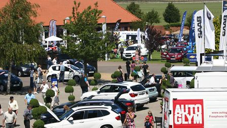 This year's Two Counties Motor Show is on June 30.
