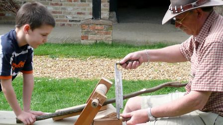 Family craft activities are off on Fathers Day at Denny Abbey Farmland Museum.