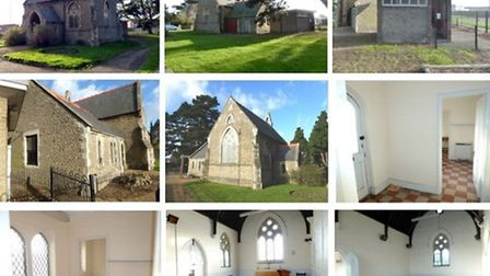 Chapel and toilets at Mount Pleasant, Wisbech