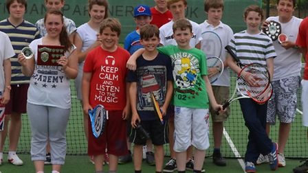 Chatteris St Peters Club held their annual tennis tournament.