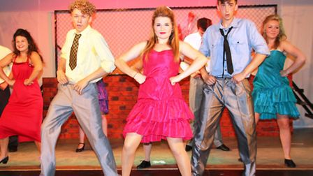 Review of Viva's production of 'Footloose' at the Brook, Soham on Friday 26th July 2013 Viva's produ
