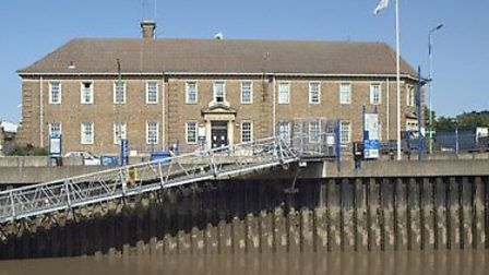 Man arrested after throwing drain cover at Wisbech Police Station