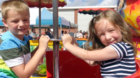 CAPTIONS: There were plenty of games and attractions to amuse all ages at the Anglia Co-operative Li