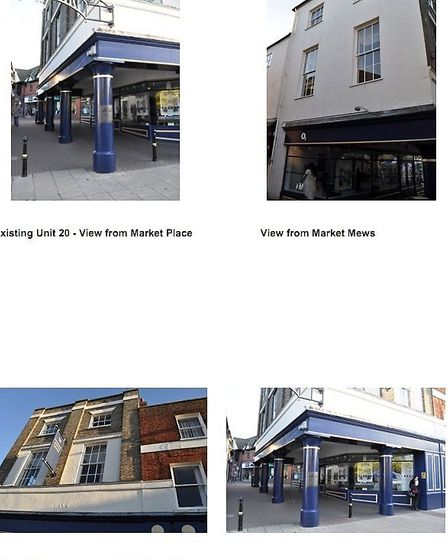 General views of Wisbech Market Place
