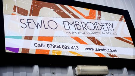 Katie Grange has launched Sewlo, an embroidery business