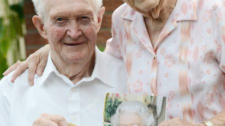 Ken and Phyliss Cross from Terrington St Clement are celebrating their 70th wedding anniversary. Pic