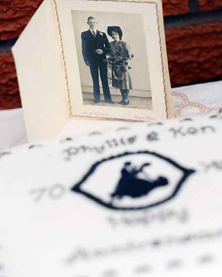 Ken and Phyliss Cross from Terrington St Clement are celebrating their 70th wedding anniversary - Th