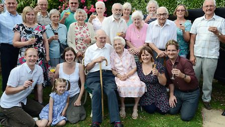 Ken and Phyliss Cross from Terrington St Clement are celebrating their 70th wedding anniversary, wit